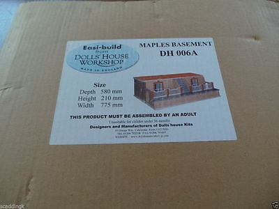 Dolls House Workshop 1:12th Scale Maples Basement Easi-Build Kit