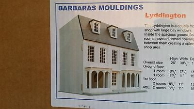 Barbara's Mouldings 1:12th Scale Lyddington House Kit