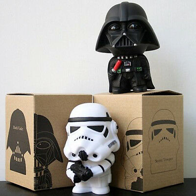"""Star Wars Darth Vader Stormtrooper 4"""" PVC Figure Kids Toy Xmas Gift Collectables"""