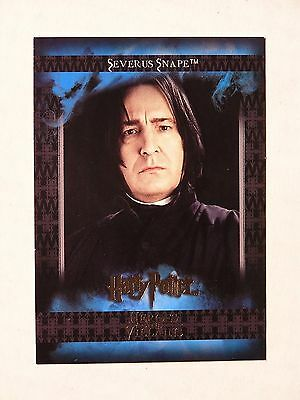 Harry Potter-H&V-Collector-Trading Card-Alan Rickman-Severus Snape-#7