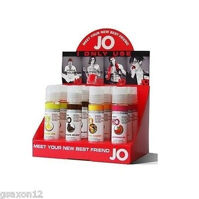 NEW SYSTEM JO H2O EDIBLE LUBE FLAVOURED LUBRICANT 30ml / 1 fl.OZ   SEX AID LUBE