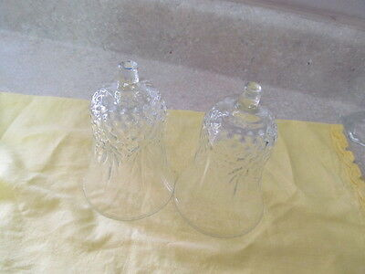 Home Interior / Homco Set Of 2 Windsor Votive Cups / Candle Holders Clear