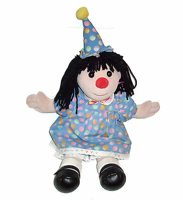 "18"" Big Comfy Couch Molly Birthday Doll Original Party Dress Commonwealth 1995"