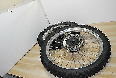 90-94 1992 CR250 CR250R CR 500 125 Set Front Rear wheel assembly tire rim hub
