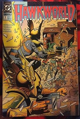 Dc Hawkworld (1990) 7 Fn/vf ***$3.98 Unlimited Shipping***