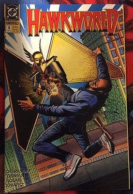 Dc Hawkworld (1990) 8 Vf/nm ***$3.98 Unlimited Shipping***