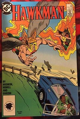 Dc Hawkman (1986) 15 Vf/nm ***$3.98 Unlimited Shipping***