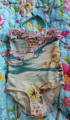 Mini Boden girl's swimsuit age 4-5 years 4-5 ans 4-5 anos