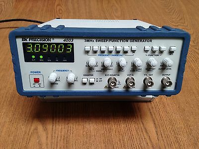 BK Precision 3MHz  Sweep / Function Generator Model 4003