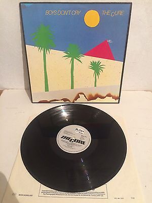 The Cure - Boys Don't Cry LP Vinyl SPELP 26 Little Scratched On Cover EX-/EX