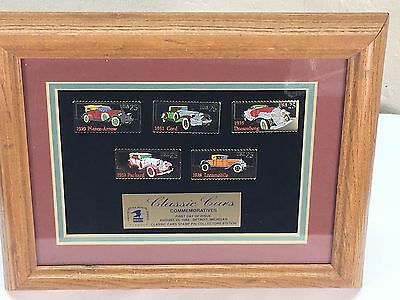 United States Postal Service Classic Car Stamp Pins Collectors Edition 1988