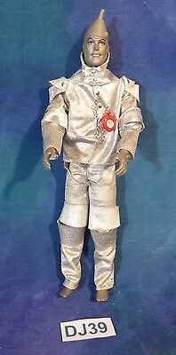 Vintage 1968 Mattel Talking Wizard of Oz Tin Man Doll Ken Barbie Sz DJ39
