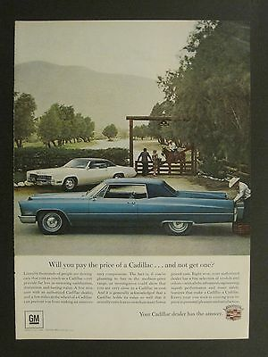 Vintage 1965 Sports Illustrated Cadillac Magazine Ad May 15 Issue!!!!!!!