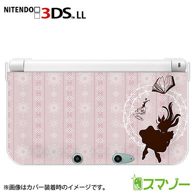 Nintendo 3DS XL cover case hard Alice pink from Japan ds013