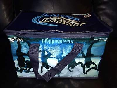 NEW ULTRA RARE ERROR MISTAKE DEFECT OFFICIAL Bud Light Beer Cooler Upside Down