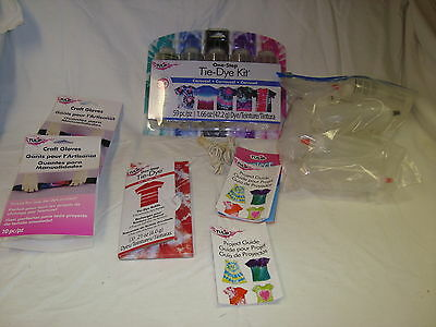 Tulip Tie Dye Kit 30 Projects 59 pieces + extra gloves, bottles & bands