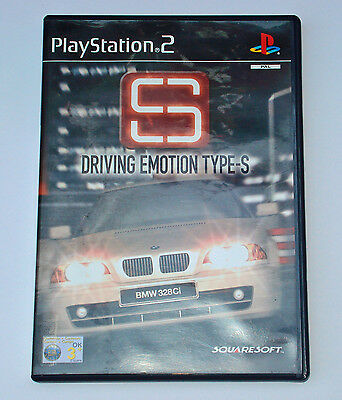 Juego Ps2 Play Station 2 - S Driving Emotion Type-S Pal -  España