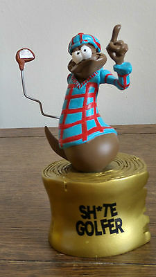 The Turds Figurine Award - Sh*t Golfer  Fun Award Golfing Gift