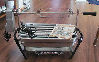 Farberware Open Hearth Electric Indoor Smokeless Rotisserie and Grill Model 450A
