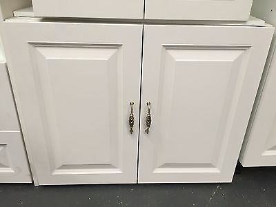 Ex display 900mm Provincial 2 doors kitchen base cabinet thermofoil