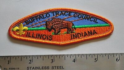 Buffalo Trace Council, Illinois, Indiana, Boy Scouts America, BSA, Badge Patch
