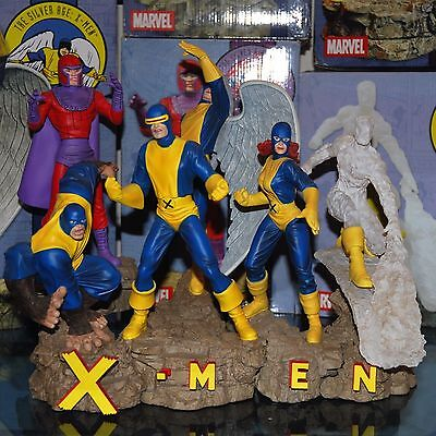 DS Marvel Silver Age X-Men Complete Set of All 6 Statues - Magneto Nt Sideshow
