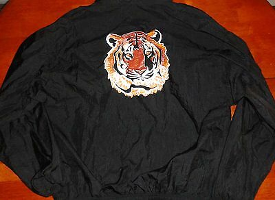 1980's Exxon Gasoline - Tiger Windbreaker - XL Zippered Jacket - NWT