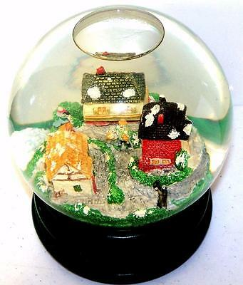 Department 56 Music SNOW GLOBE Dickens Village Plays Partridge in a Pear Tree