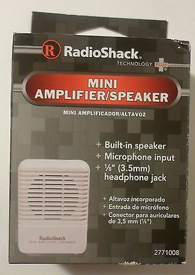 Radioshack Mini Amplifier/Speaker (277-1008) BRAND NEW IN PACKAGE