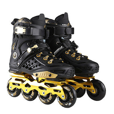 Men's Women Adult Outdoor Indoor Inline Skating Shoe Roller Skates Shoes 4 Wheel