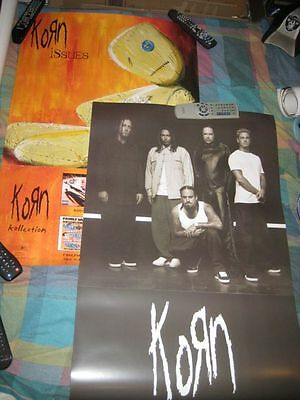 KORN-(issues)-24X36 POSTER-2 SIDED-MINT-RARE