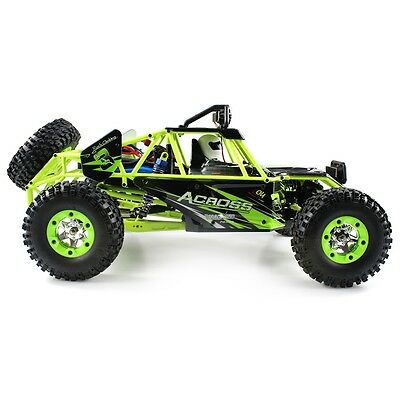 High Speed 4WD Climbing RC Car WLtoys No.12428 1 / 12 2.4GHz with LED Light