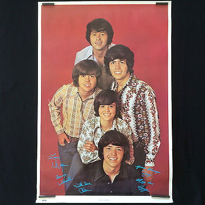 Rare Vintage 1971 The Osmonds Original Promo Poster by Osbro Productions