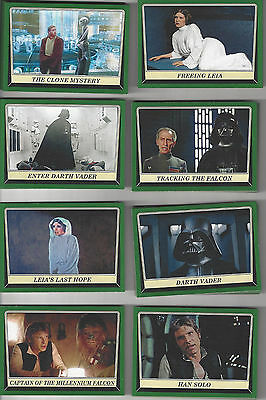 2016 Star Wars Rogue One Mission Briefing Green parallel 42 card lot different