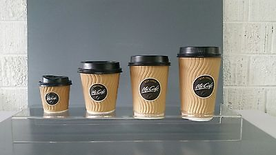 Take Away Coffee Cup Displays Custom Made