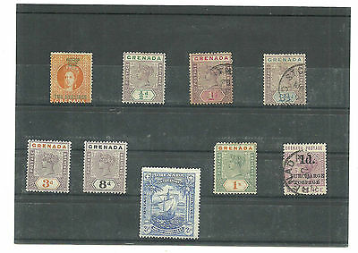 (CB-S-74)Stamps,  Grenada, English Colony
