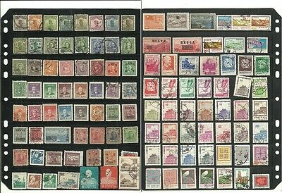 stamps, asia, china great lot, used as scan,#A