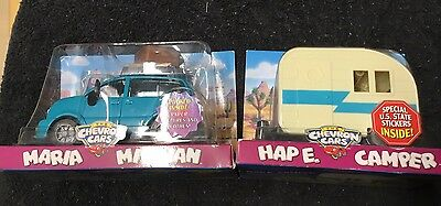 The Chevron Cars Maria Minivan And Hap E. Camper *new*