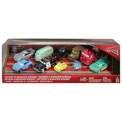 Cars 3 Return To Radiator Springs Vehicle 10-Pack - NEW