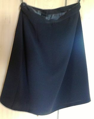 WOMEN LOT OF 2  CASUAL above knee SKIRTS, SILK BLEND, sizes 38 (EURO) & 1
