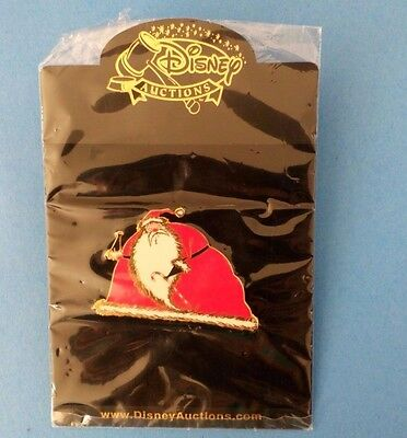 Disney Auction LE 100 Sandy Claws Gold finish Nightmare before Christmas Pin