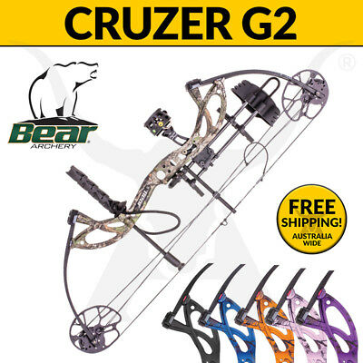 Bear Archery 2017 Cruzer G2 RTH 70lbs Compound Bow - 3D Archery and Bow Hunting