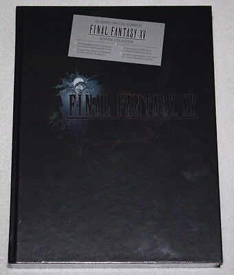 ++ le guide officiel complet FINAL FANTASY XV 15 édition collector NEUF ++