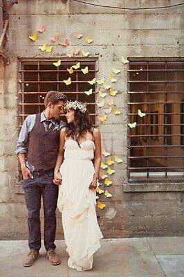 As On Tv ***magic Flyer*** Flying Butterflies - Wedding Surprise - Packs Of 10