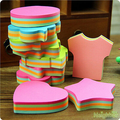 Multicolor Cute Sticker Bookmark Sticky Notes Point Marker Memo Post Tab Flag x1