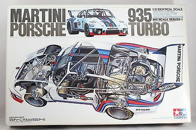 Tamiya 1/12 MARTINI PORSCHE 935 TURBO model kit item No.12023  Made in Japan!!
