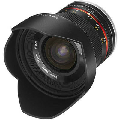 Neu Samyang 12Mm F2.0 Ncs Cs Lens For Sony E-Mount Schwarz