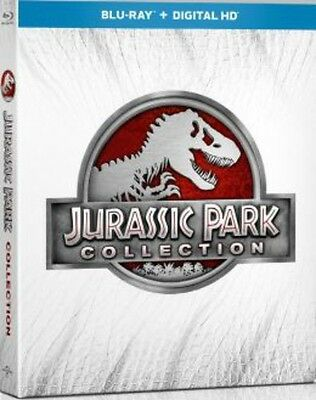 Jurassic Park Collection - 4 DISC SET (2015, Blu-ray NUOVO) (REGIONE A)