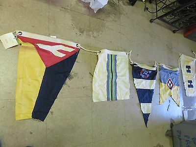 Nautical NEW Hanging FLAG GARLAND 5 different flags