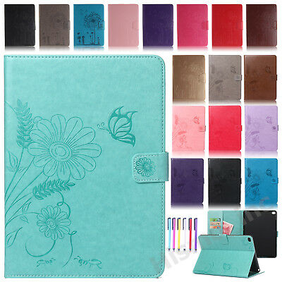 Smart Patterned Leather Wallet Stand Case Cover For iPad 2 3 4/Mini 4/Pro 9.7""